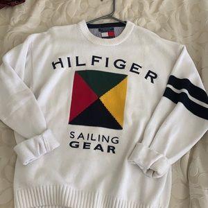 Vintage 90s Tommy Hilfiger Sailing gear sweater